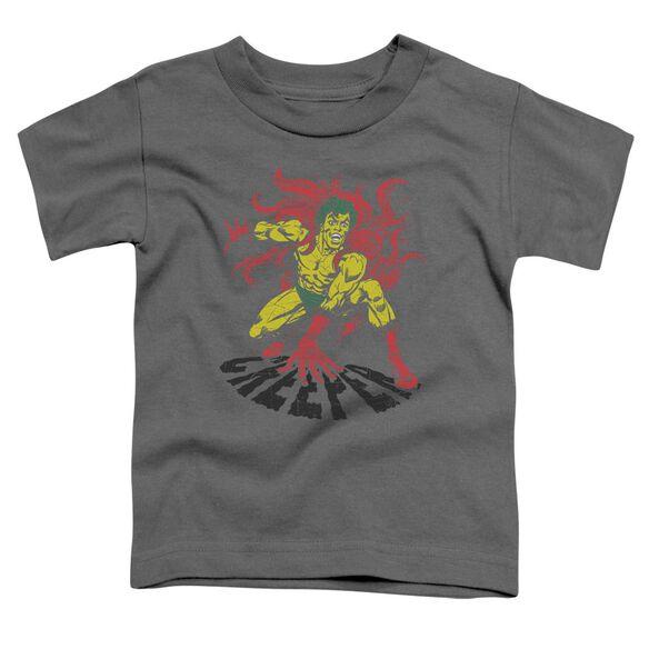 Dco Creeper Short Sleeve Toddler Tee Charcoal T-Shirt