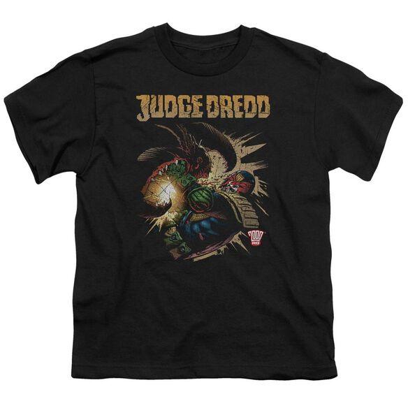 JUDGE DREDD BLAST AWAY - S/S YOUTH 18/1 - BLACK T-Shirt