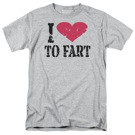 I Love To Fart Short Sleeve Adult Athletic T-Shirt