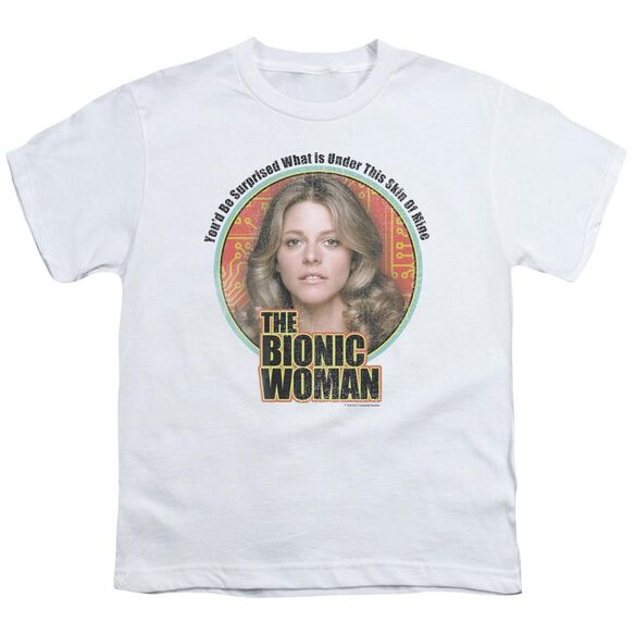 Bionic Woman Under My Skin Short Sleeve Youth T-Shirt