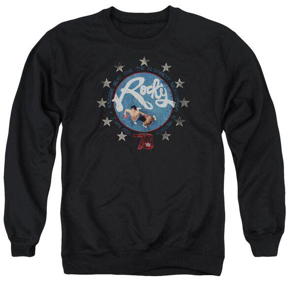 Rocky Bloodiest Bicentennial Adult Crewneck Sweatshirt