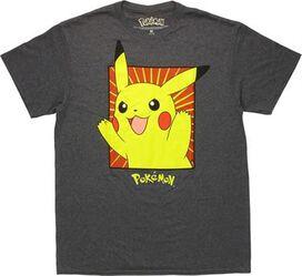 Pokemon Pikachu Framed T-Shirt