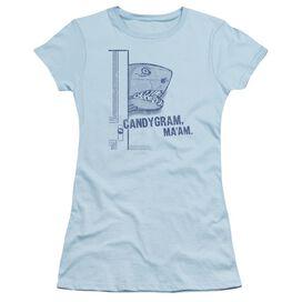 Snl Land Shark Short Sleeve Junior Sheer Light T-Shirt