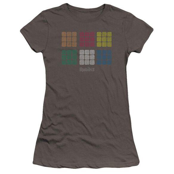 Rubik's Cube Minimal Squares Premium Bella Junior Sheer Jersey