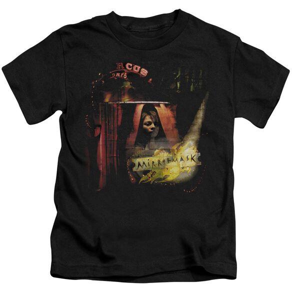 Mirrormask Big Top Poster Short Sleeve Juvenile Black T-Shirt