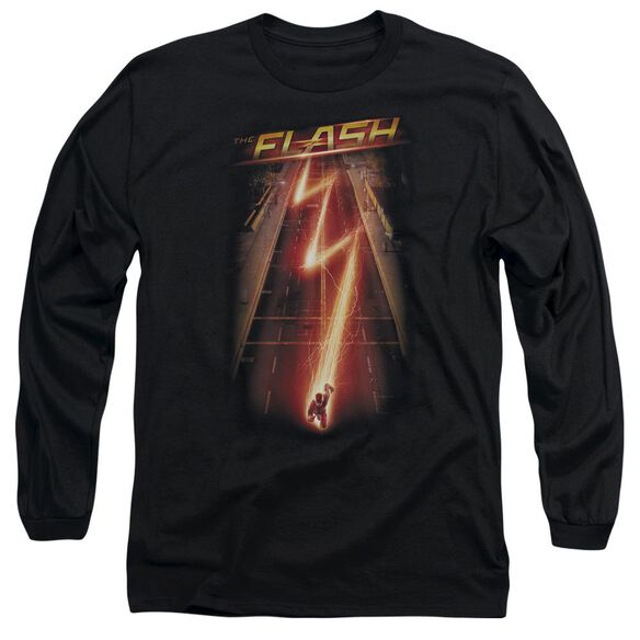 The Flash Flash Ave Long Sleeve Adult T-Shirt