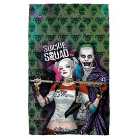 Suicide Squad Perfect Couple Towel White