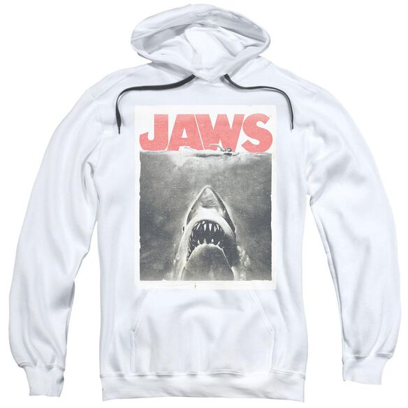 Jaws Classic Fear Adult Pull Over Hoodie