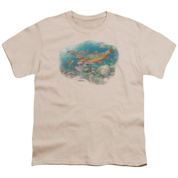 Wildlife Easy Pickings Trout Short Sleeve Youth T-Shirt