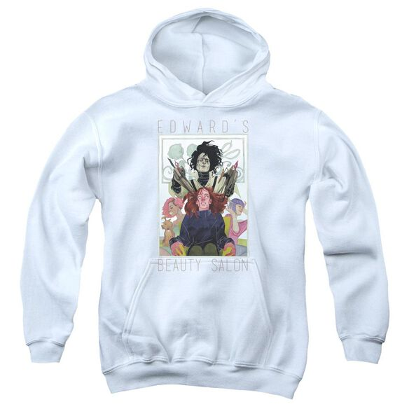 Edward Scissorhands Salon Youth Pull Over Hoodie