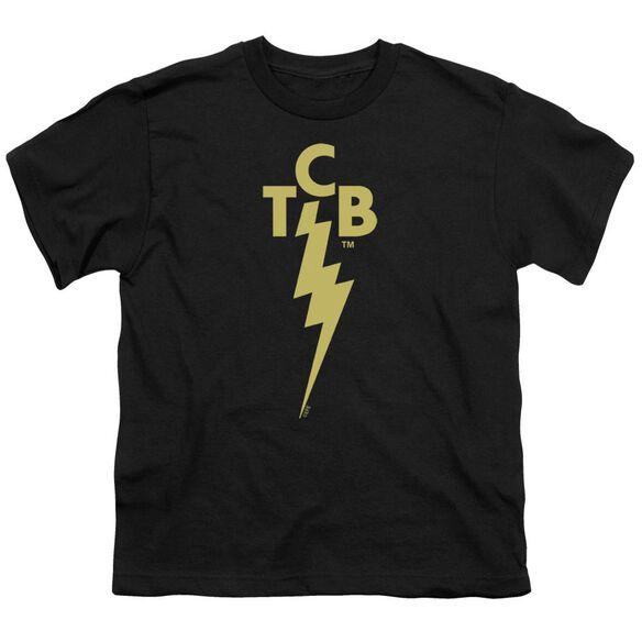 Elvis Tcb Logo Short Sleeve Youth T-Shirt