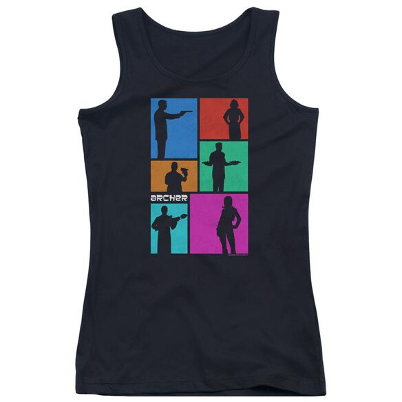 Archer Silhouettes Juniors Tank Top