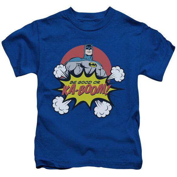 Dc Kaboom Short Sleeve Juvenile Royal Blue T-Shirt