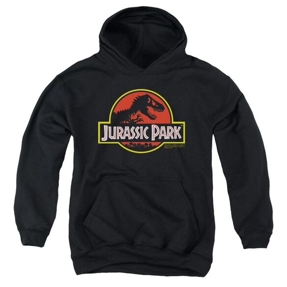Jurassic Park Classic Logo Youth Pull Over Hoodie