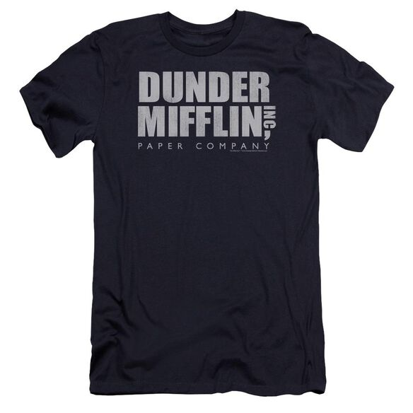 The Office Dunder Mifflin Distressed Premuim Canvas Adult Slim Fit