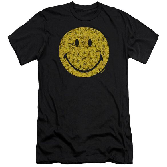 Smiley World Rosey Face Premuim Canvas Adult Slim Fit