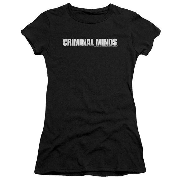 Criminal Minds Logo Short Sleeve Junior Sheer T-Shirt