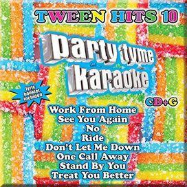Various Artists - Party Tyme Karaoke: Tween Hits 10 / Various