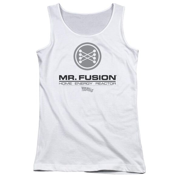Back To The Future Ii Mr. Fusion Logo Juniors Tank Top