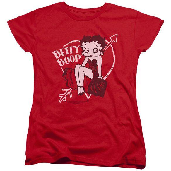 Betty Boop Lover Girl Short Sleeve Womens Tee T-Shirt