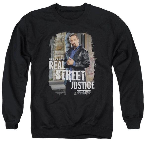 Law And Order Svu Street Justice Adult Crewneck Sweatshirt