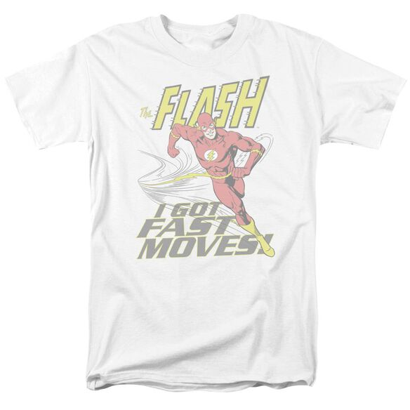 Dco Fast Moves Short Sleeve Adult White T-Shirt