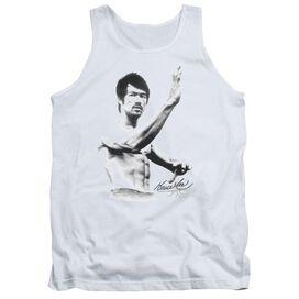 Bruce Lee Serenity - Adult Tank - White