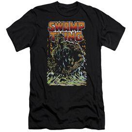 Jla Swamp Thing Premuim Canvas Adult Slim Fit