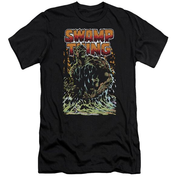 Jla Swamp Thing Premuim Canvas Adult Slim Fit