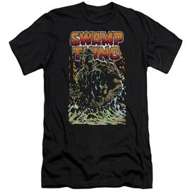 Jla Swamp Thing Short Sleeve Adult T-Shirt