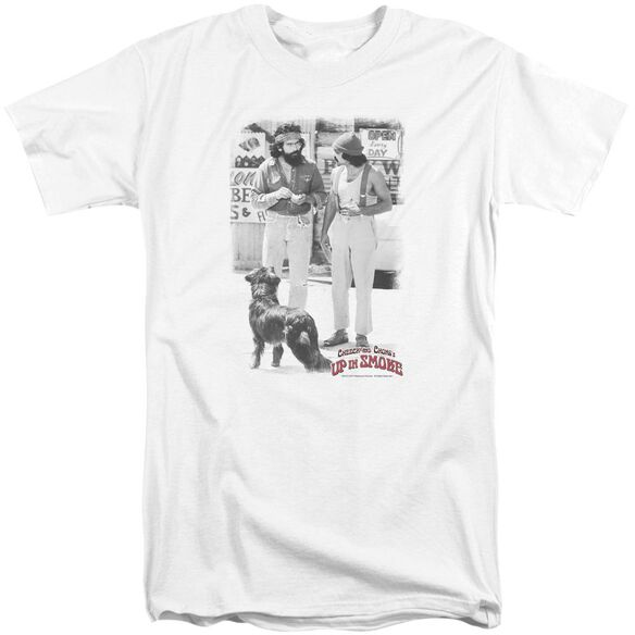 Up In Smoke Square Short Sleeve Adult Tall T-Shirt