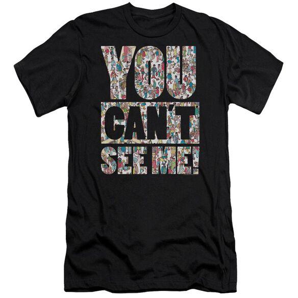 Wheres Waldo See Me Short Sleeve Adult T-Shirt
