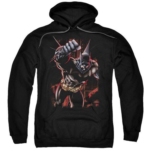 Batman Crimson Knight Adult Pull Over Hoodie