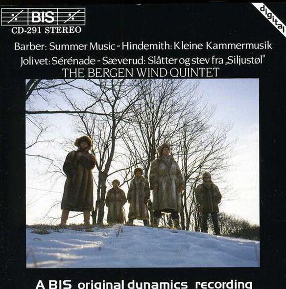 Barber/ Bergen Wind Quintet - Summer Music For Woodwind Quintet