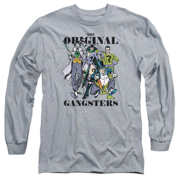Dc Original Gangsters Long Sleeve Adult Athletic T-Shirt