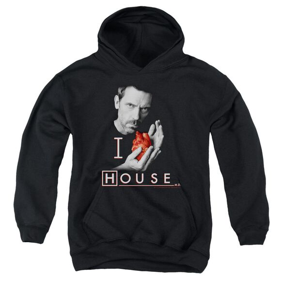 House I Heart House Youth Pull Over Hoodie