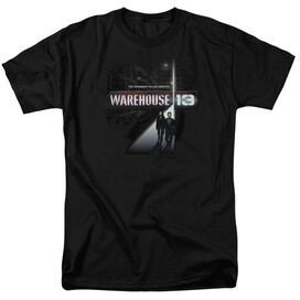 WAREHOUSE 13 THE UNKNOWN - S/S ADULT 18/1 - BLACK T-Shirt