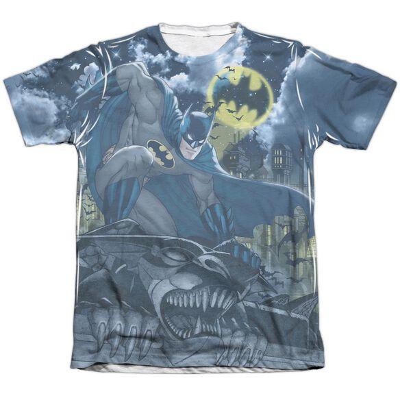 Batman Gotham Gargoyle Adult 65 35 Poly Cotton Short Sleeve Tee T-Shirt
