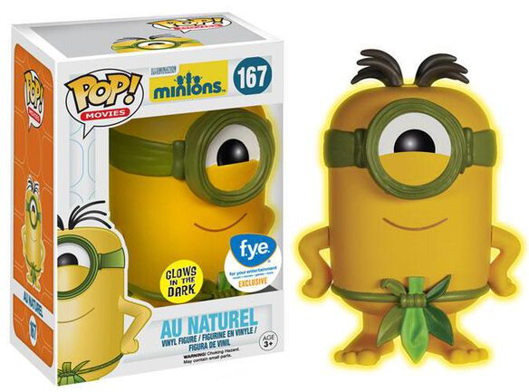 Pop Exclusive Glow Natural Minion