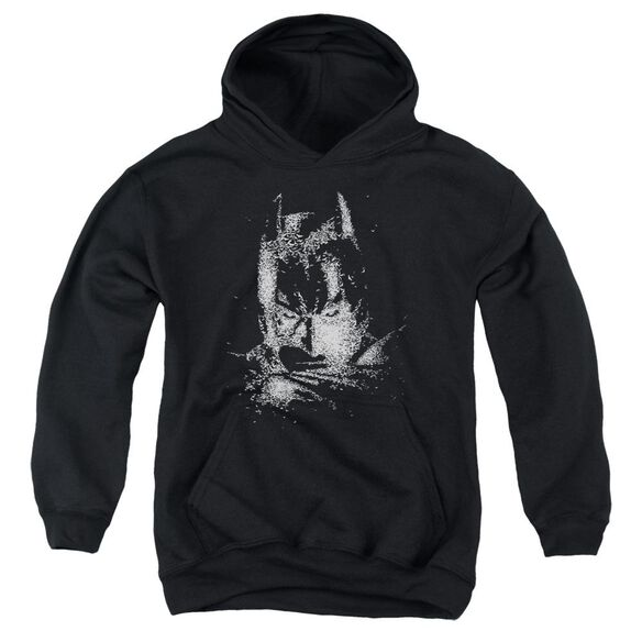 Dark Knight Batman Bat Head Youth Pull Over Hoodie