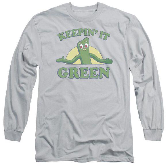 GUMBY KEEPIN IT GREEN-L/S T-Shirt