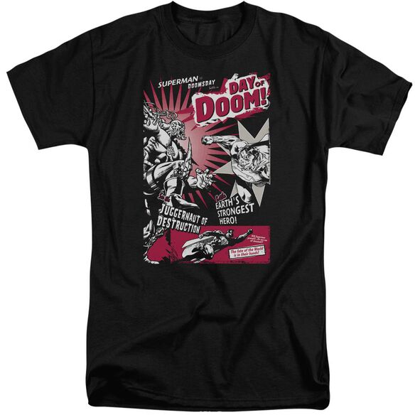 Superman Day Of Doom Short Sleeve Adult Tall T-Shirt