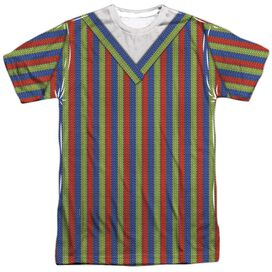 Sesame Street Bert Costume Short Sleeve Adult Poly Crew T-Shirt