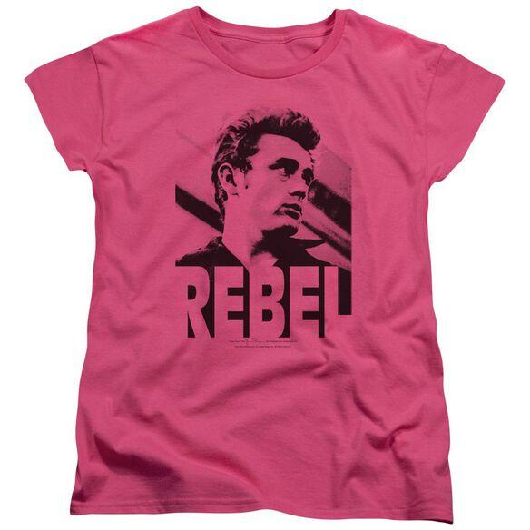 Dean Rebel Rebel Short Sleeve Womens Tee Hot T-Shirt
