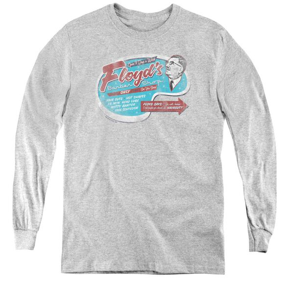 Mayberry Floyds Barber Shop - Youth Long Sleeve Tee -