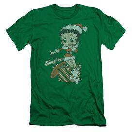 Betty Boop Define Naughty Short Sleeve Adult Kelly T-Shirt