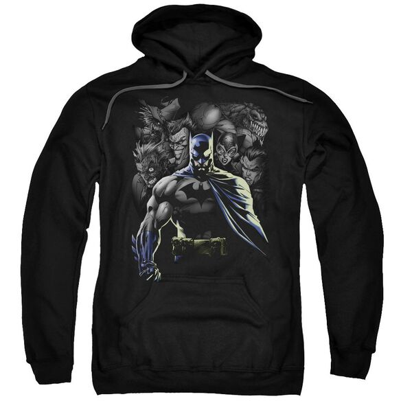 Batman Villains Unleashed Adult Pull Over Hoodie