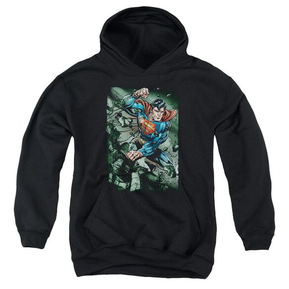 Superman Indestructible Youth Pull Over Hoodie