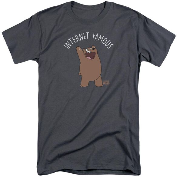 We Bare Bears Internet Famous Short Sleeve Adult Tall T-Shirt