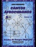 Luca Brandoli - Cantos Afrocubanos 12 Cantos de Congo